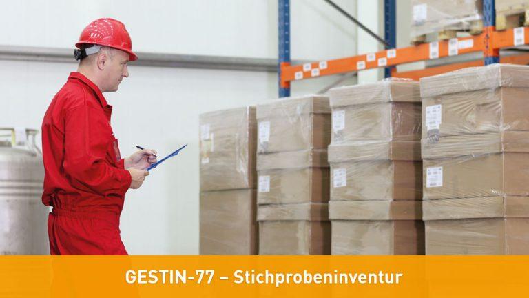 GESTIN-77 – Stichprobeninventur Inventurvereinfachung und Inventurerleichterung mit Software für Stichprobeninventur und Sequenzialtest