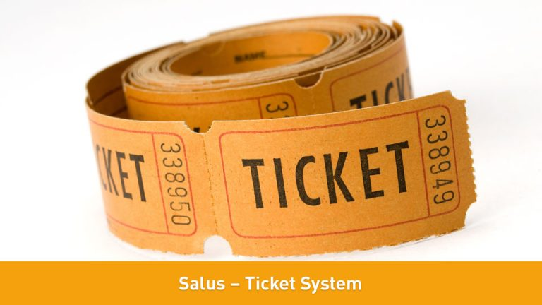 Salus – Ticket System