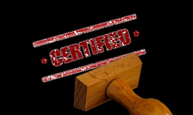 GESTIN-77 - Stichprobeninventur Zertifikat