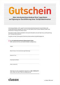 Gutschein Datenanalyse GESTIN-77-Stichprobeninventur classix